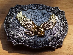 "Siergesp  "" Vliegende adelaar ""  Zilver- / goudkleurig"