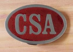 """Buckle  """" CSA """""""