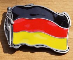 """Gesp buckle  """" Duitse vlag """""""