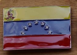 "Gesp buckle  "" Vlag Venezuela """