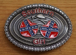 "Country Buckle  "" Southern girl """