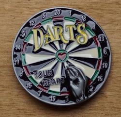 "Sport buckle  "" Darts """