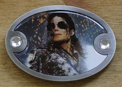 """Muziek gesp  """" Michael Jackson """""""