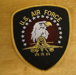 "Strijkapplicaties "" U.S. Air Force """