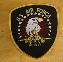"""Strijkapplicaties """" U.S. Air Force """""""