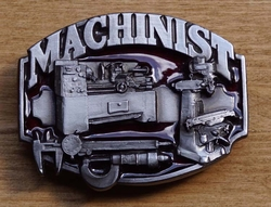 "Losse gesp  "" Machinist ""  ( Monteur )"