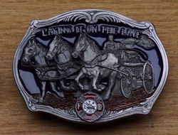 "Beroep buckle "" Laying it on the line """