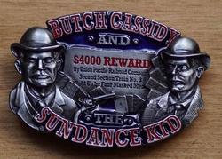 "Western buckle  "" Butch Cassidy and sundace kid """