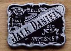 "Jack Daniels gesp "" Righ mellow, hand made, Old no 7 wiskey"