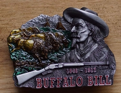 "Western buckle  "" Buffalo bill """