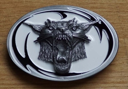 "Tattoo buckle / gesp  "" Wild cat """