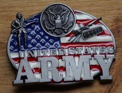 "Gesp buckle  ""  United States   Army  """