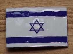 "Gesp buckle  "" Vlag Israël """