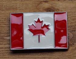"Gesp buckle  "" Vlag Canada """