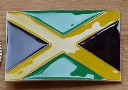 """Gesp buckle  """" Vlag Jamaica """""""