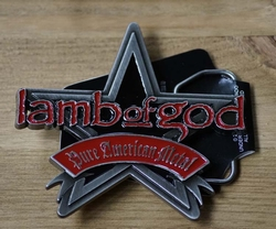"Music belt buckle  "" Lamb of God """