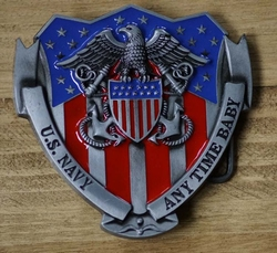 "Gesp buckle  ""  US Navy  """