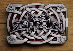 "Muziekband buckle  "" Led Zeppelin """