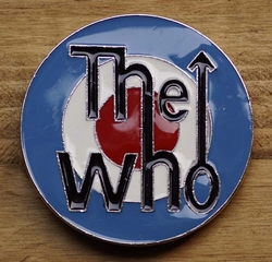 "Muziekband buckle  "" The who """