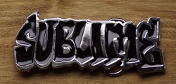 "Music band buckle  "" Sublime """