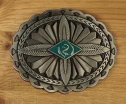 """Buckle """"  Aztec design """""""