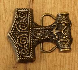 "Belt buckle  "" Hamer van Thor """
