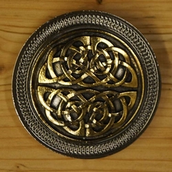 "Buckle  "" Celtic knot in two part """