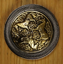 "Celtic buckle  "" Inverurie horses """