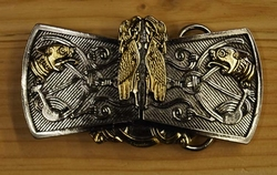 "Belt buckle  "" Birds & Beasts """