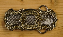 "Celtic belt buckle  "" Thistle decoration """