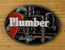 """Losse gesp  """" Plumber """"   ( Loodgieter )"""