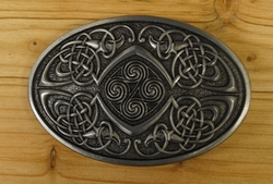 "Buckle / gesp  "" 4 knots, Celtic Bird """