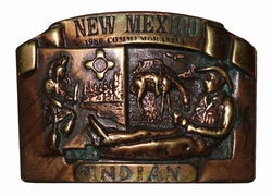 """Riemgesp  """" New Mexico indian """"   Indianen"""