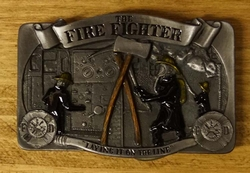 "Gesp  "" The fire fighter ""  ( Brandweerman )"