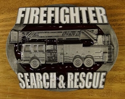 "Gesp  "" Firefighter search & rescue "" ( Brandweerman )"