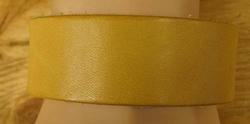 """Brede leren armband   """" Beige / geel """""""