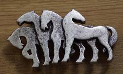 "Riem buckle  "" Paarden """