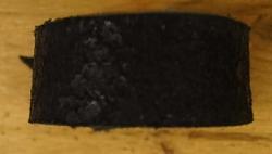 Brede leren armband