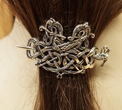"""Haarspeld  """" Keltische draken """""""