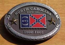 "Riemgesp  "" North Carolina 1860 - 1865 """