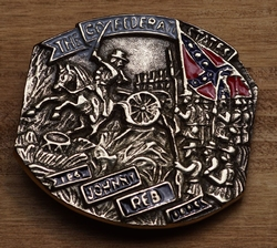 "Buckle  "" Johnny reb conferatie states """