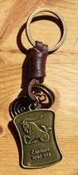 "Sterrenbeeld sleutelhanger   "" Steenbok """