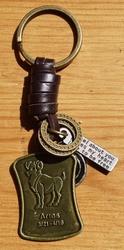 """Sterrenbeeld sleutelhanger  """" Ram """""""
