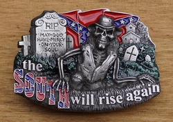 """Buckle  """" The south will rise  """""""