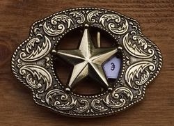 "Buckle  ""  Texas star """