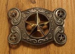 "Buckle  ""  Texas star ""  UITVERKOCHT"