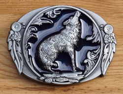 "Western gesp "" Huilenden wolf  """