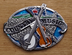 "Country Buckle  ""Country music """