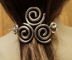 """Haarspeld  """" Keltische knoop """""""