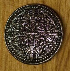 """Speldje  """" 4 Keltische knopen met dolken """""""
